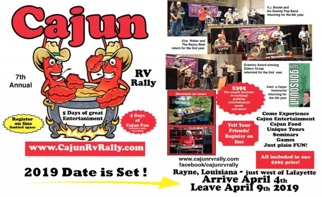 2019 Cajun Rally