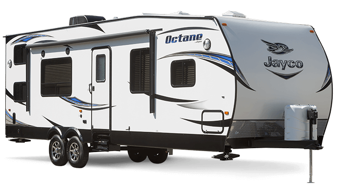 New Jayco Octane Toy Hauler