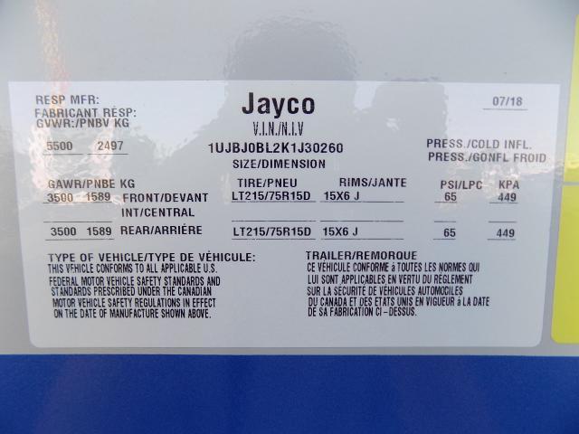 2019 Jayco JayFeather 213 Travel Trailer